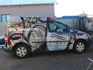 Web Design Hosting Upington   Vehicle Wrap